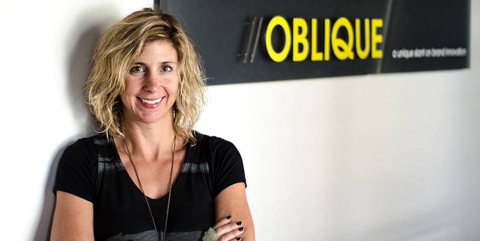 janice ferrante founder of oblique design