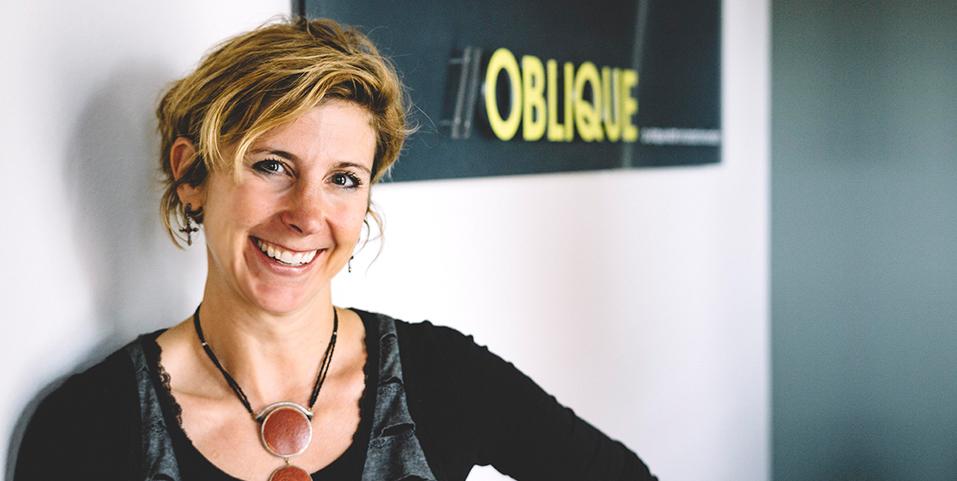 janice, founder of boulder graphic design agency