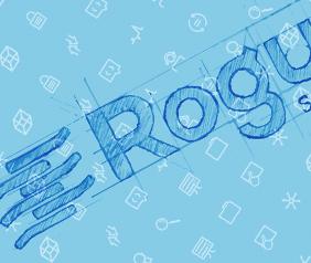 professional logo design for rogue wave