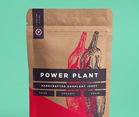 packaging graphic design for power plant