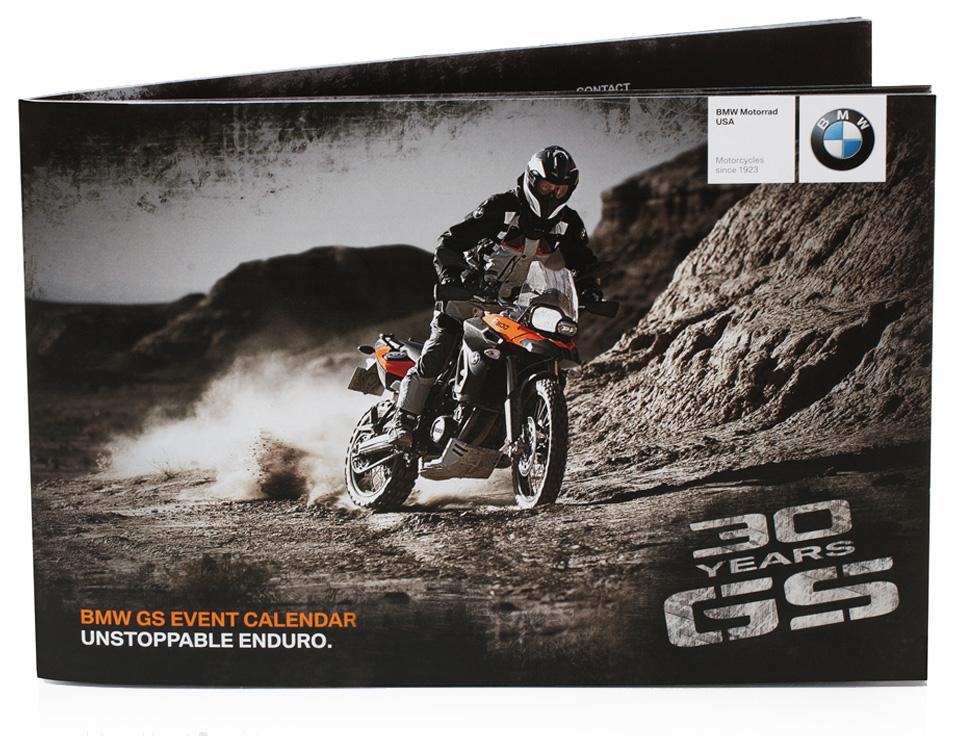 bmw motorrad event calendar exterior