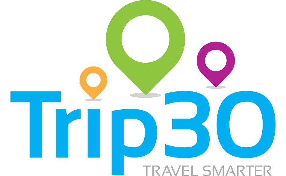 Trip 30 logo design