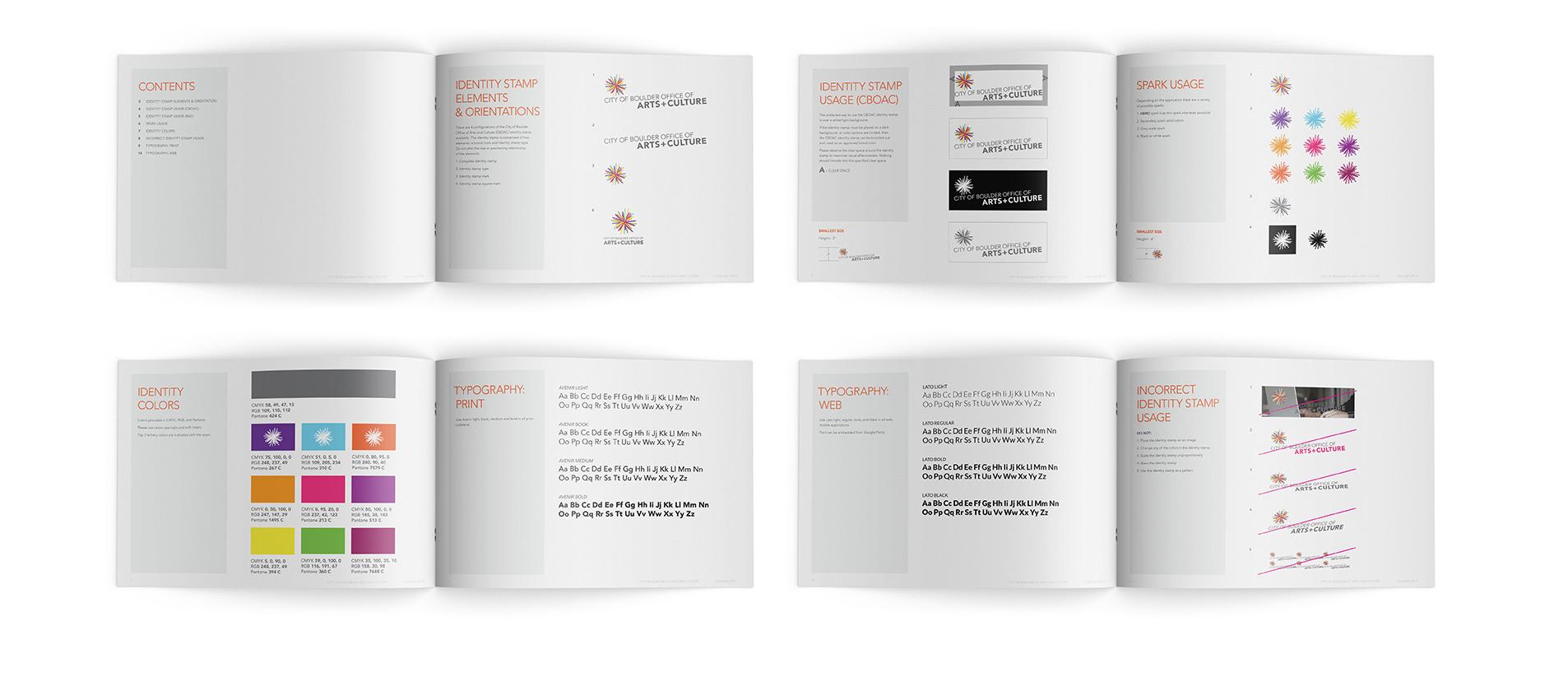 boulder print design project for city of boulder