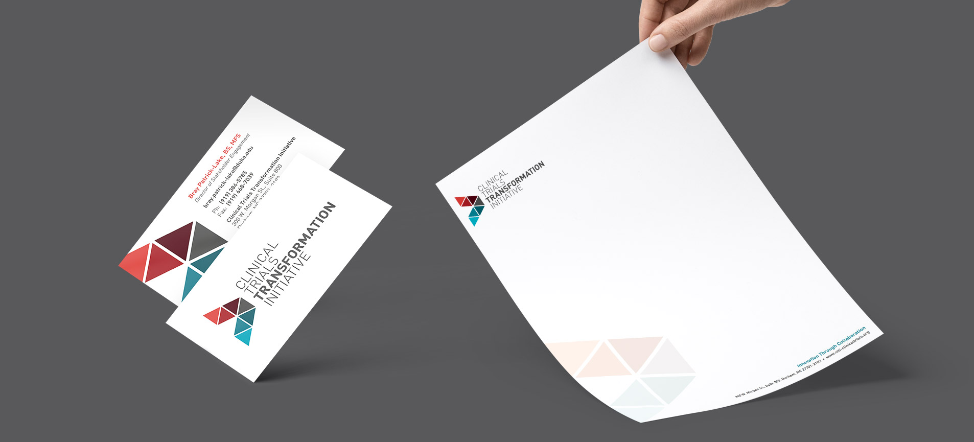 stationery design for ctti