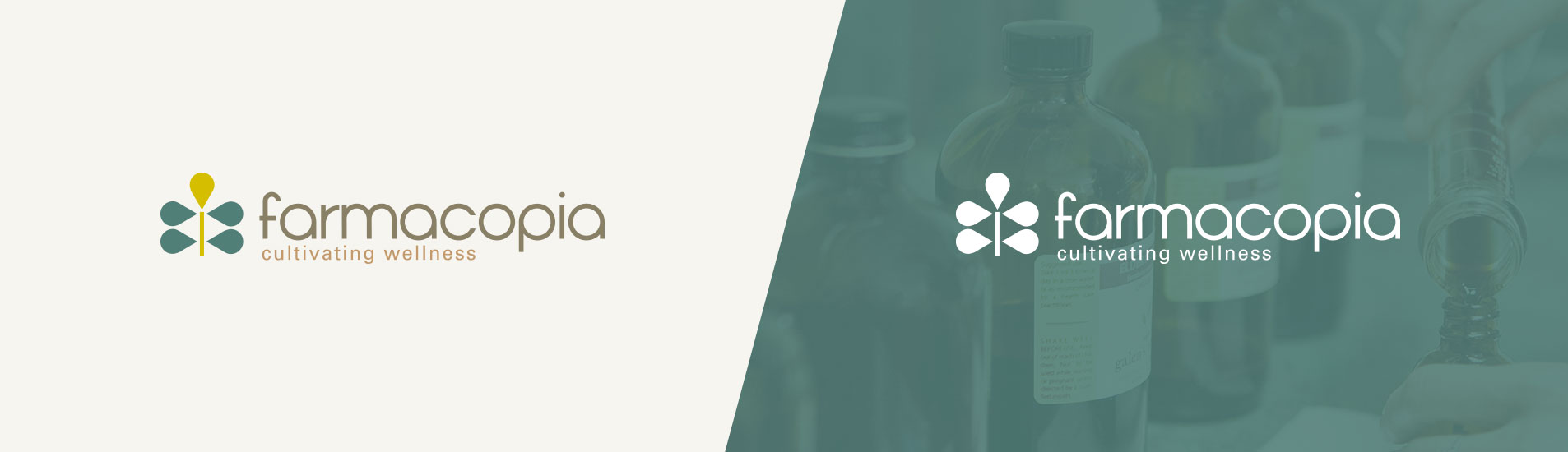 farmacopia logo design