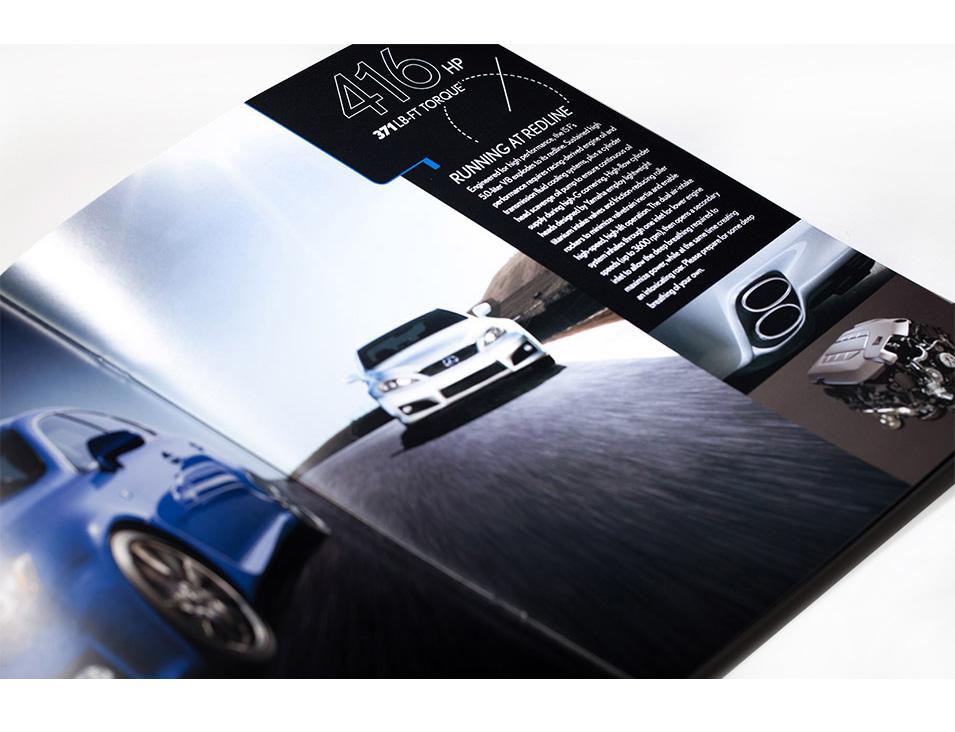 lexus marketing material design