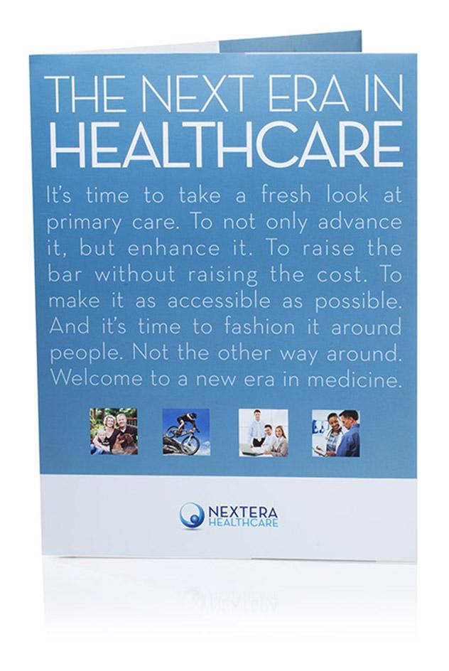 printed material design for nextera