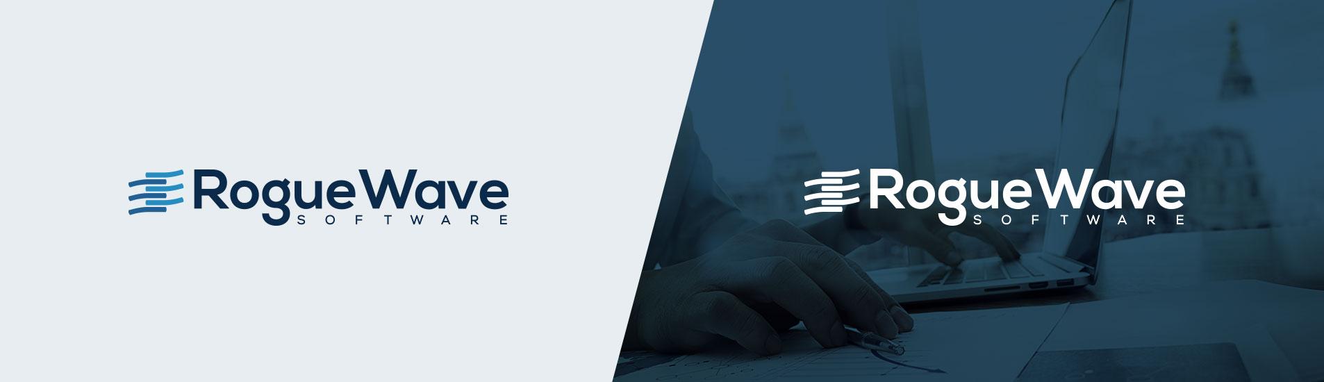 rogue wave logo design