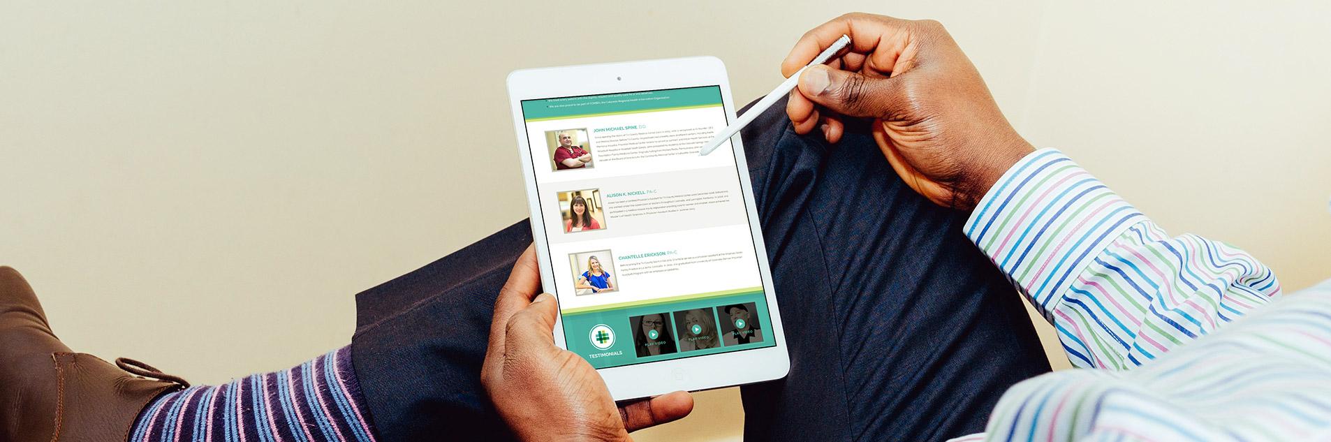 mobile website design for tri-county