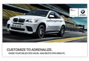 marketing materials for bmw by oblique design