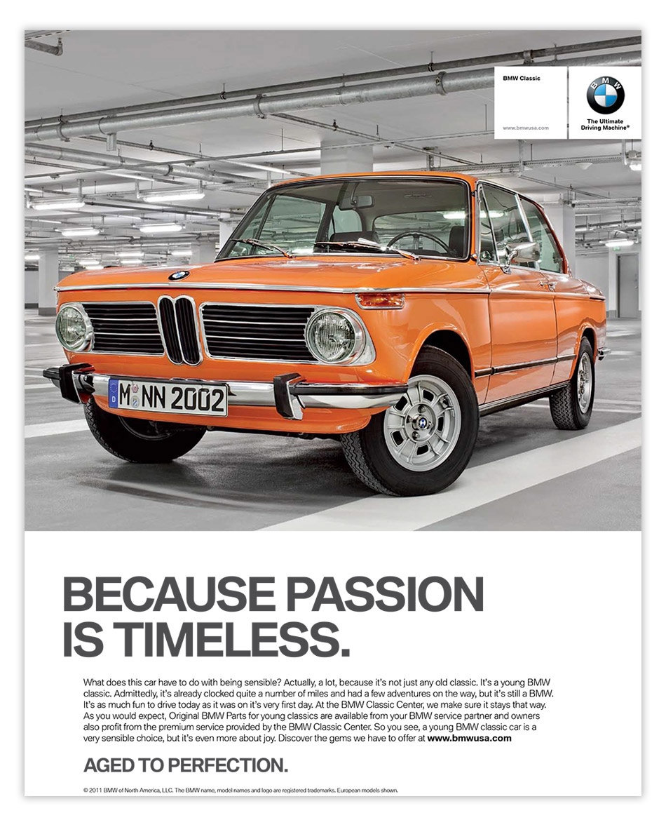 layout design for bmw by oblique design