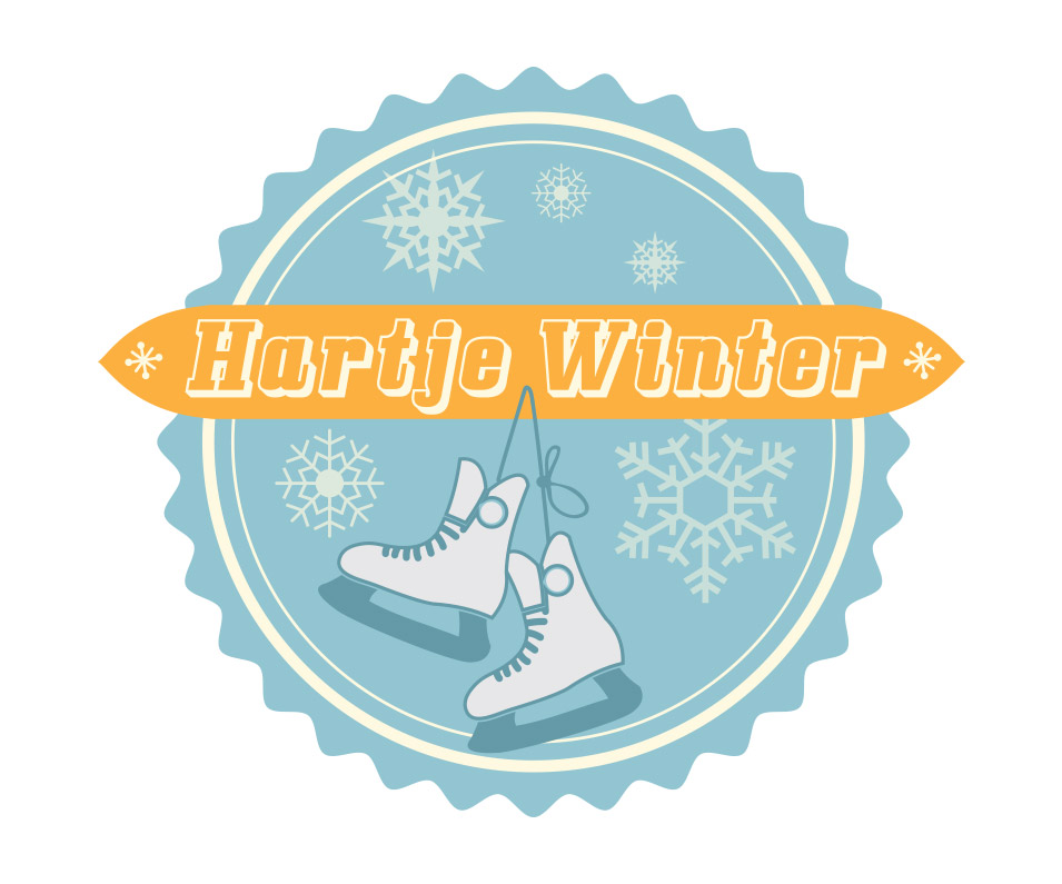 Hartje Winter ice rink logo design