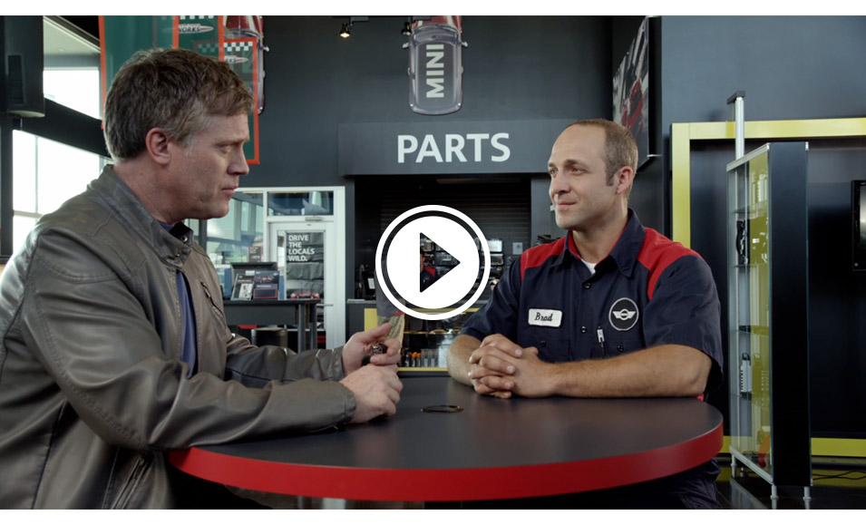 mini cooper service center video