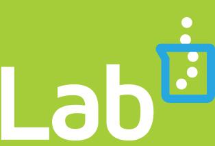 closeup of backlab logo