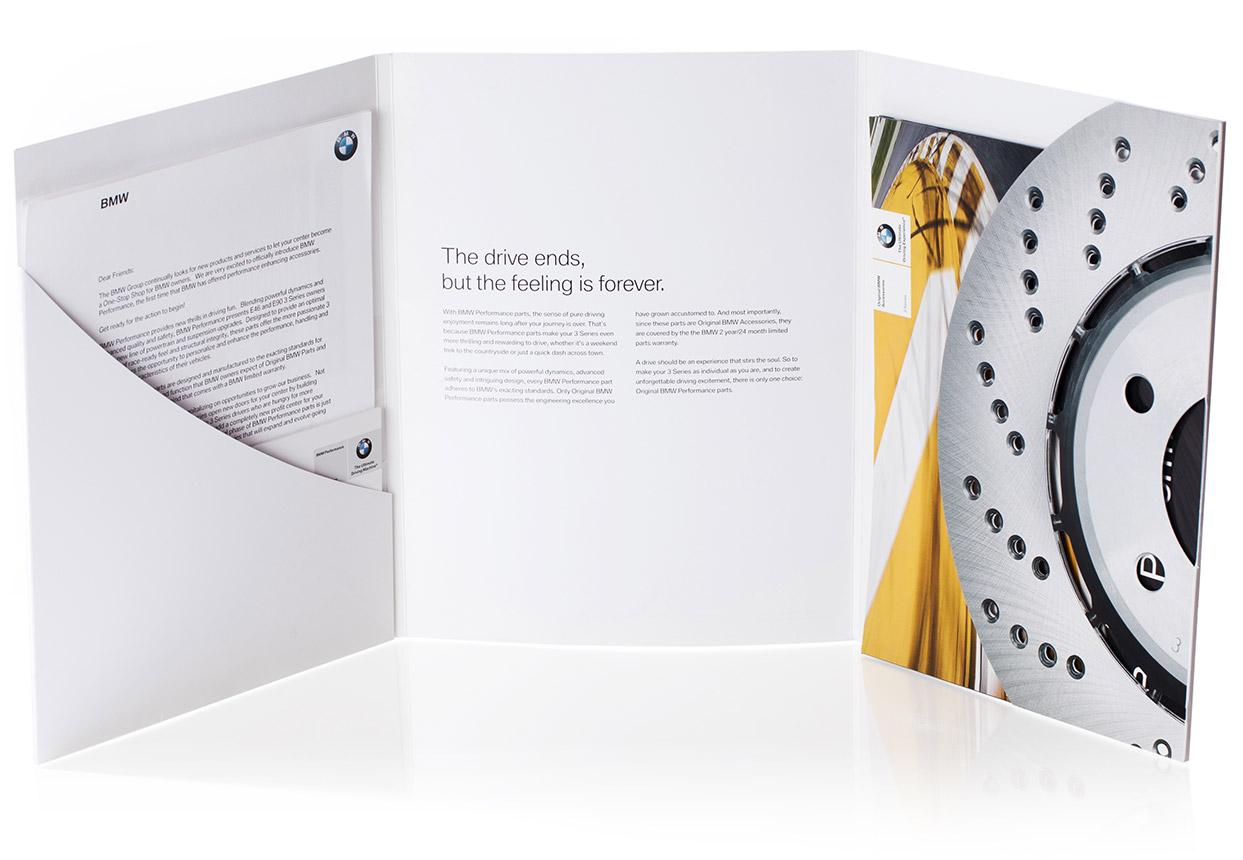 bmw printed goods design