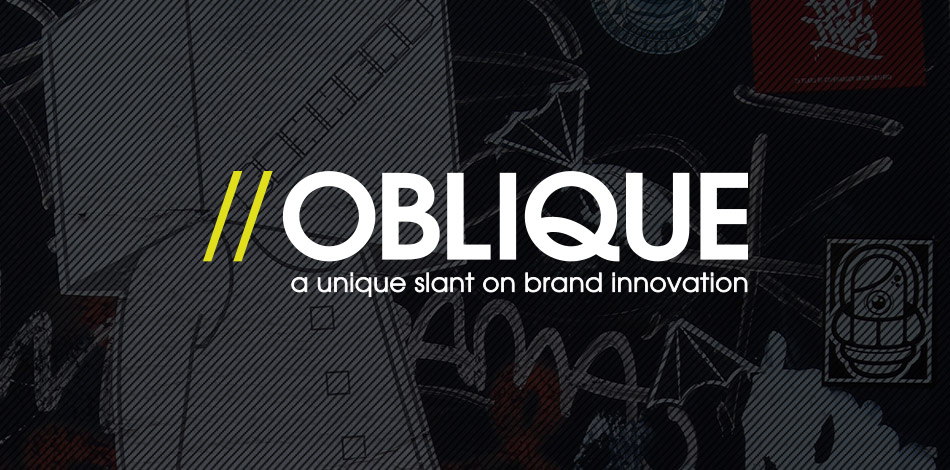 oblique design logo
