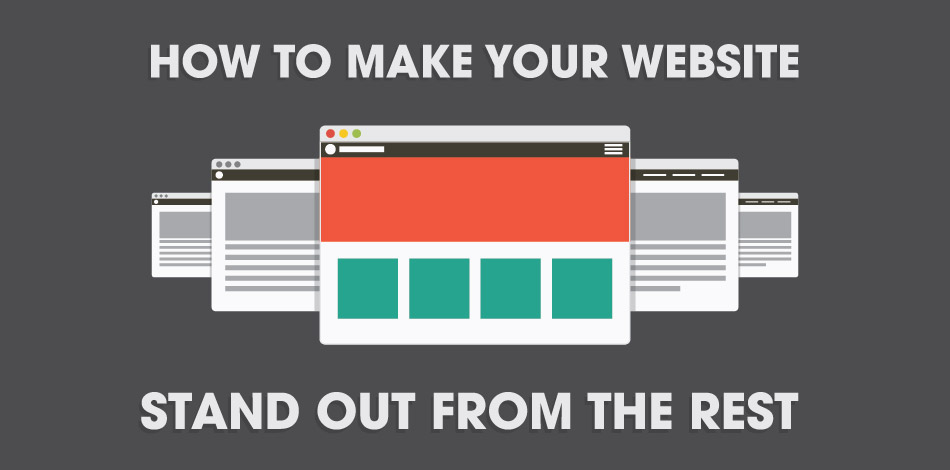 text: how to make your website stand out from the rest
