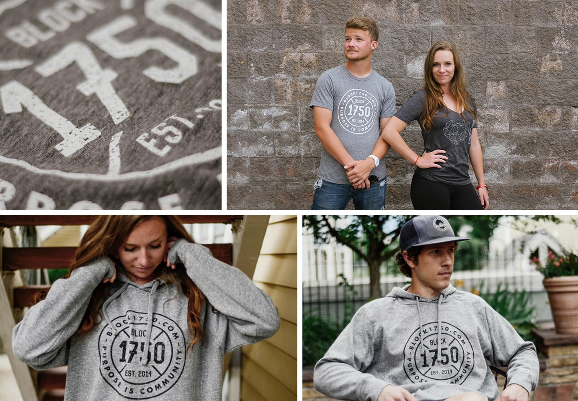 apparel design for block1750