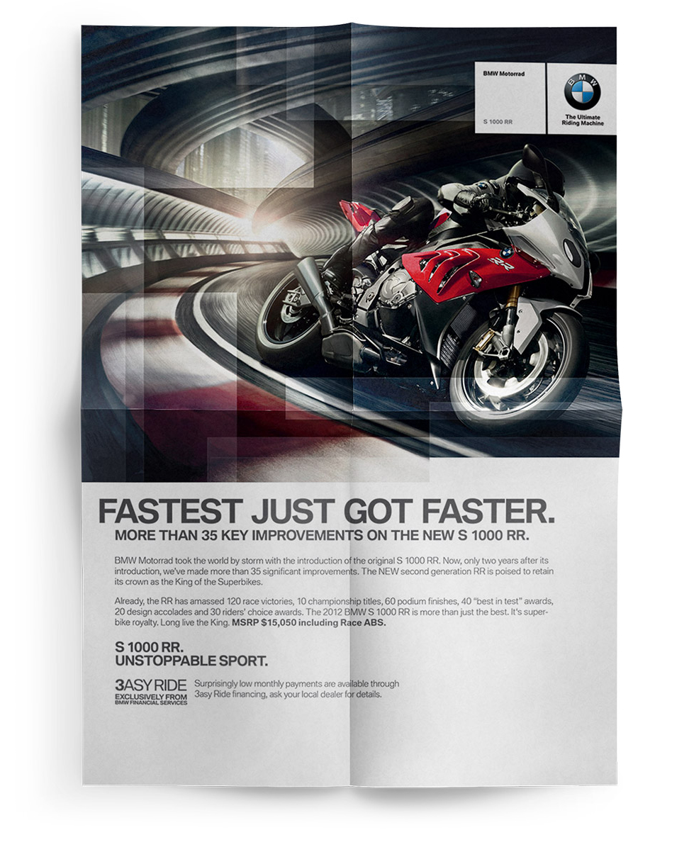 bmw print ad design