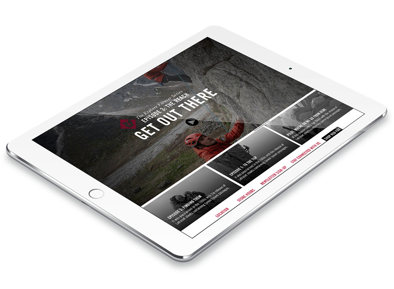 website redesign services for redfox