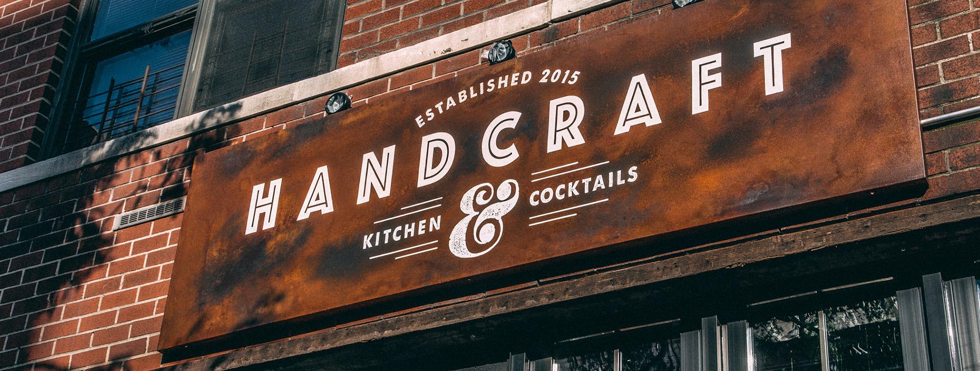exterior sign design for restaurant