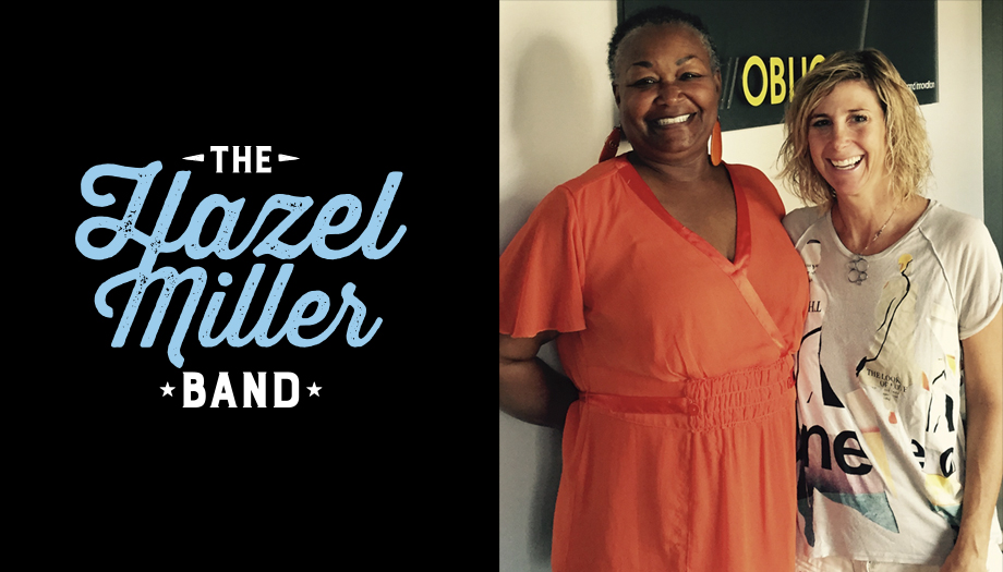 hazel miller band logo design by oblique design