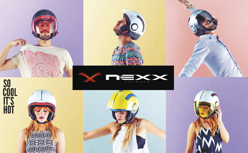 nexx helmet partnership with oblique design