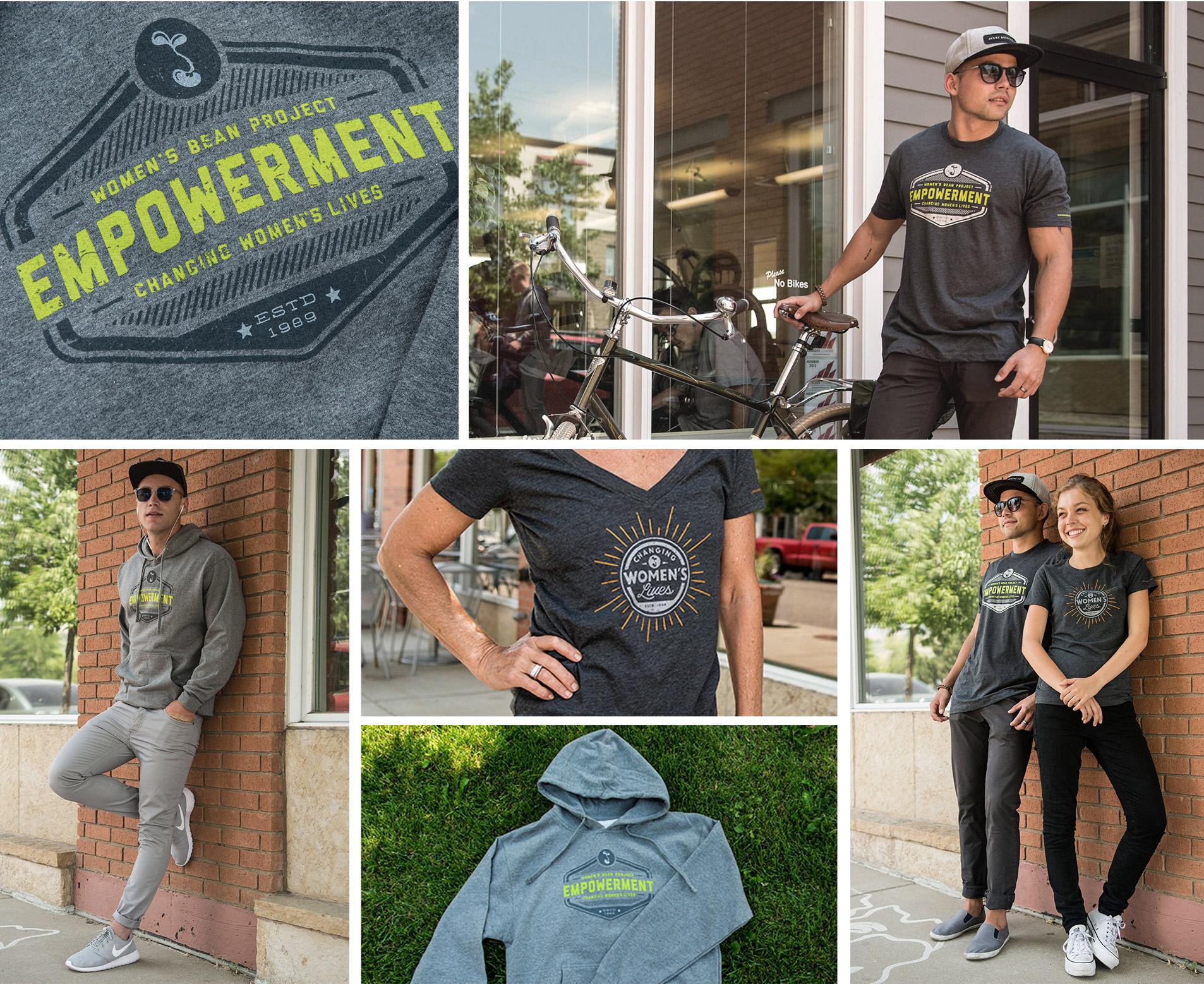 apparel design project for denver nonprofit