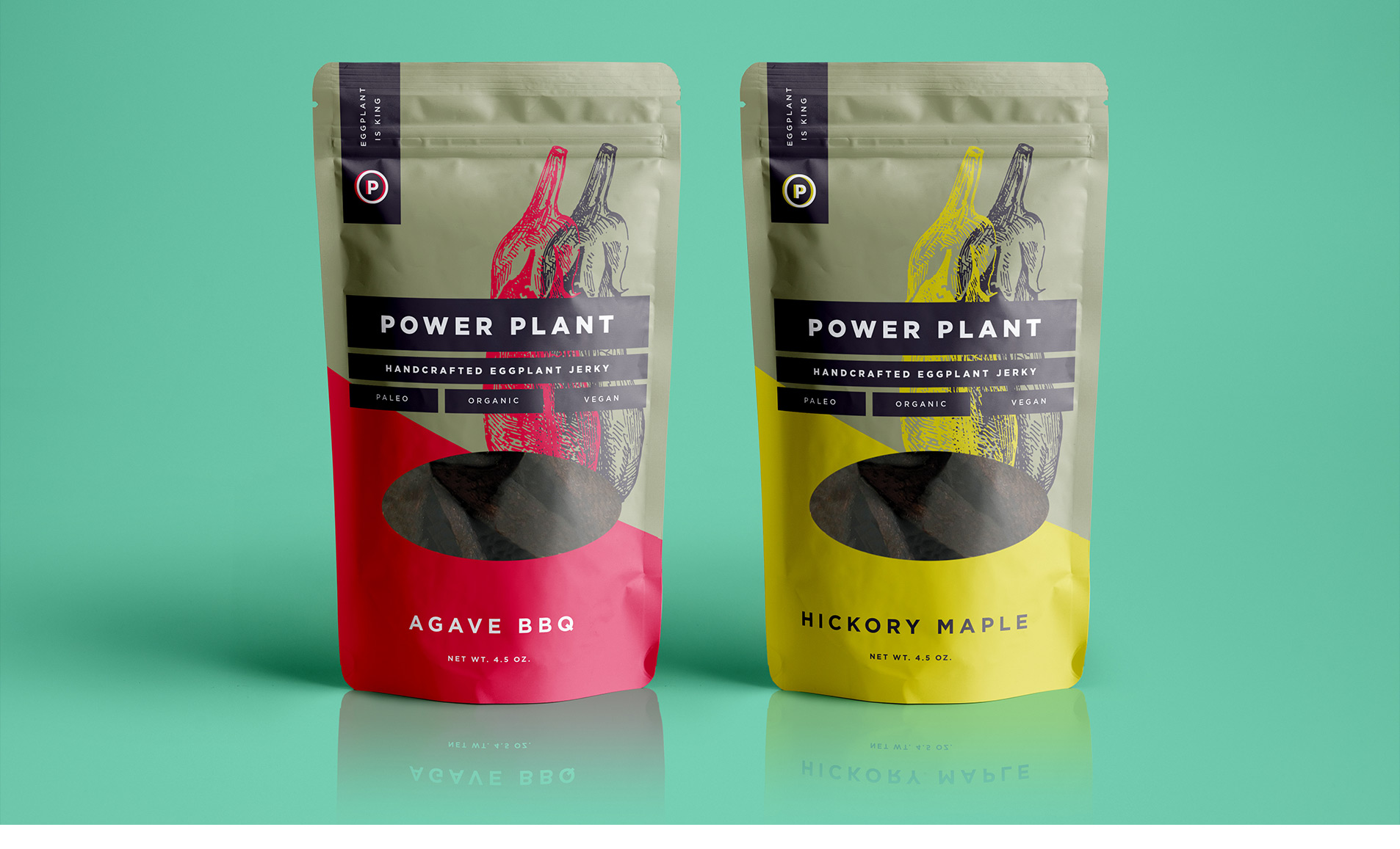 snack packaging for power plant