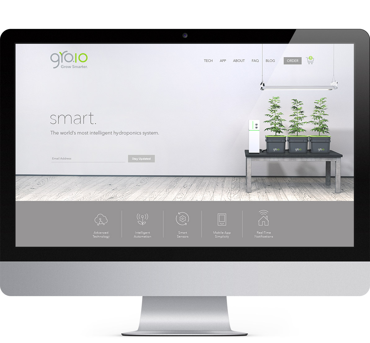 groio website and branding project