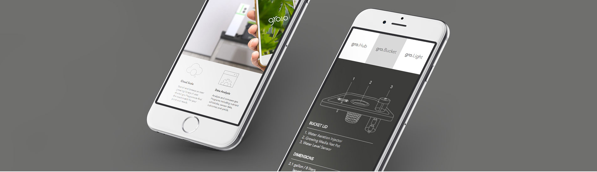 groio mobile website design