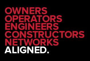 text reading owners operators engineers constructors networks aligned