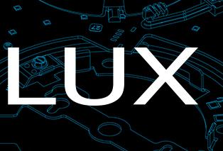 lux logo design