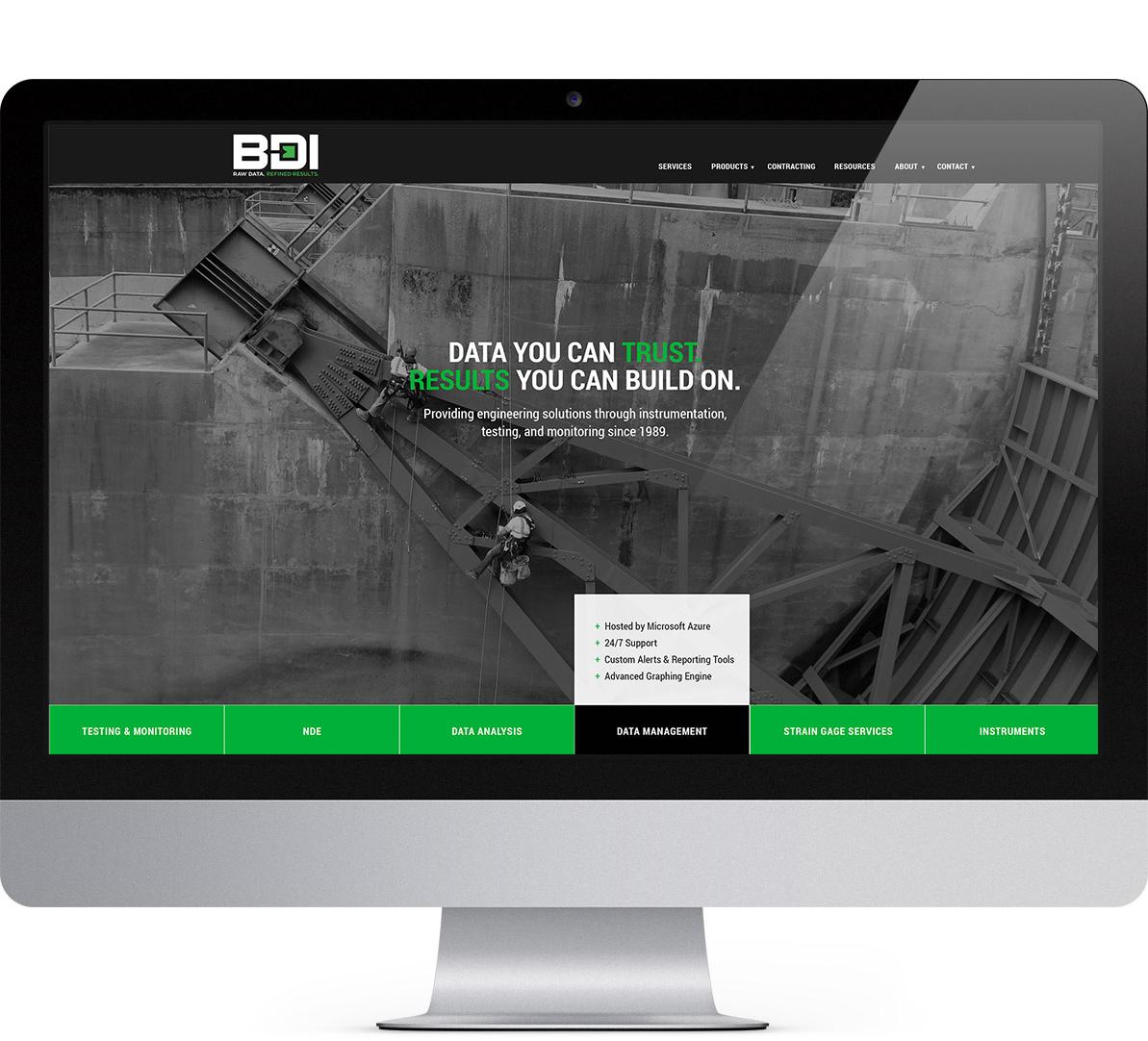 website design for bdi