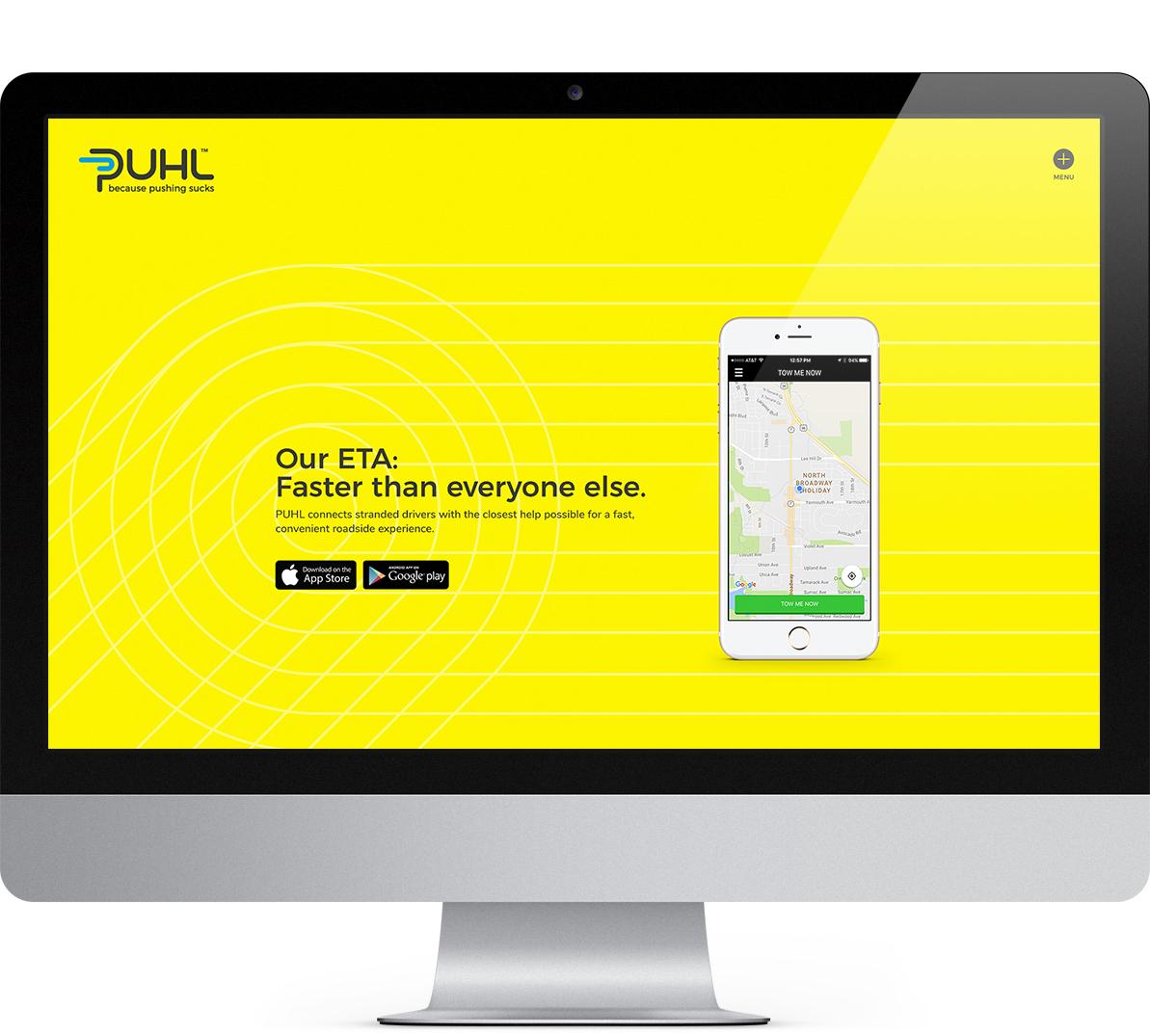 puhl website design