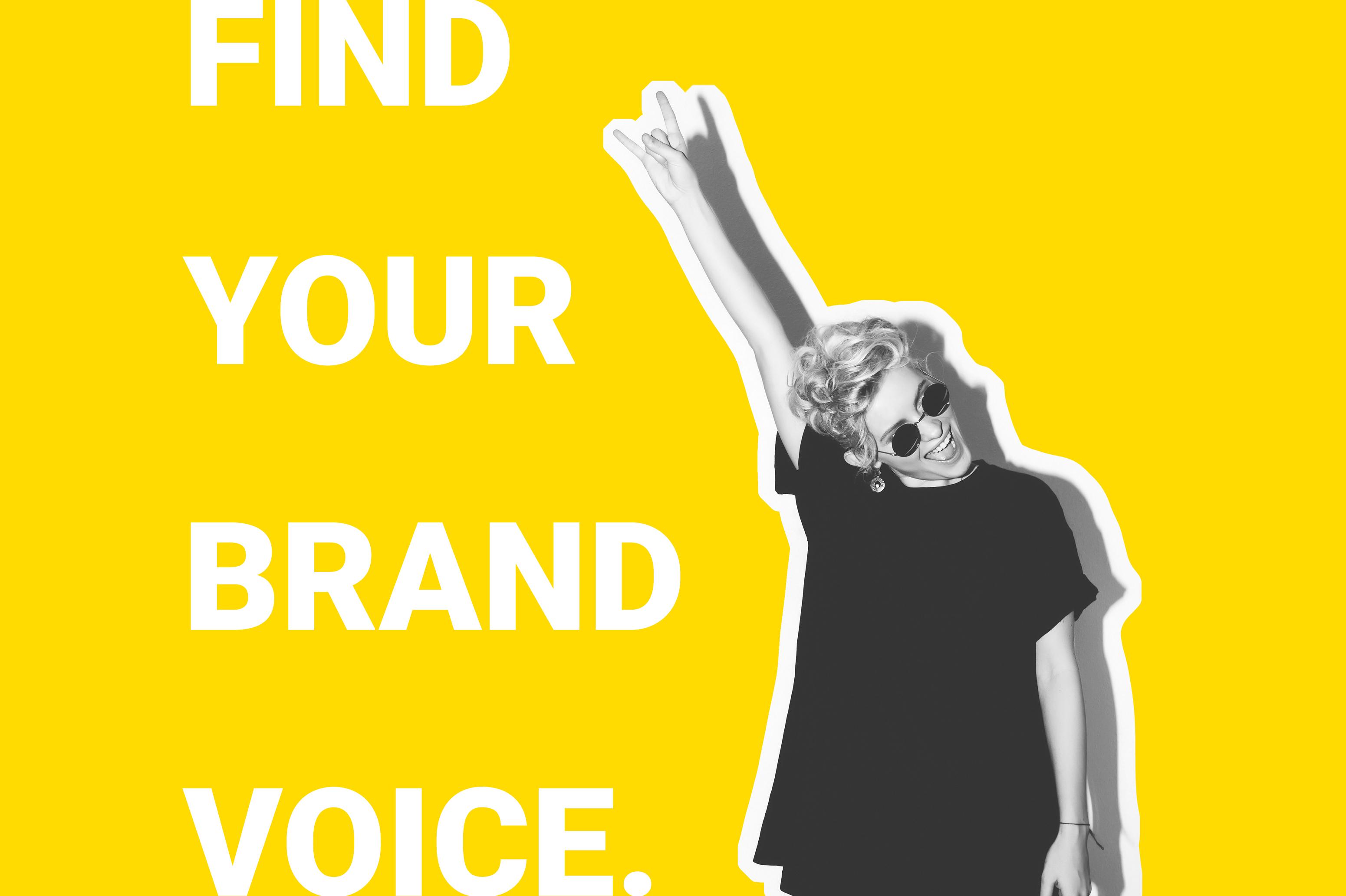 find your brand voice meme
