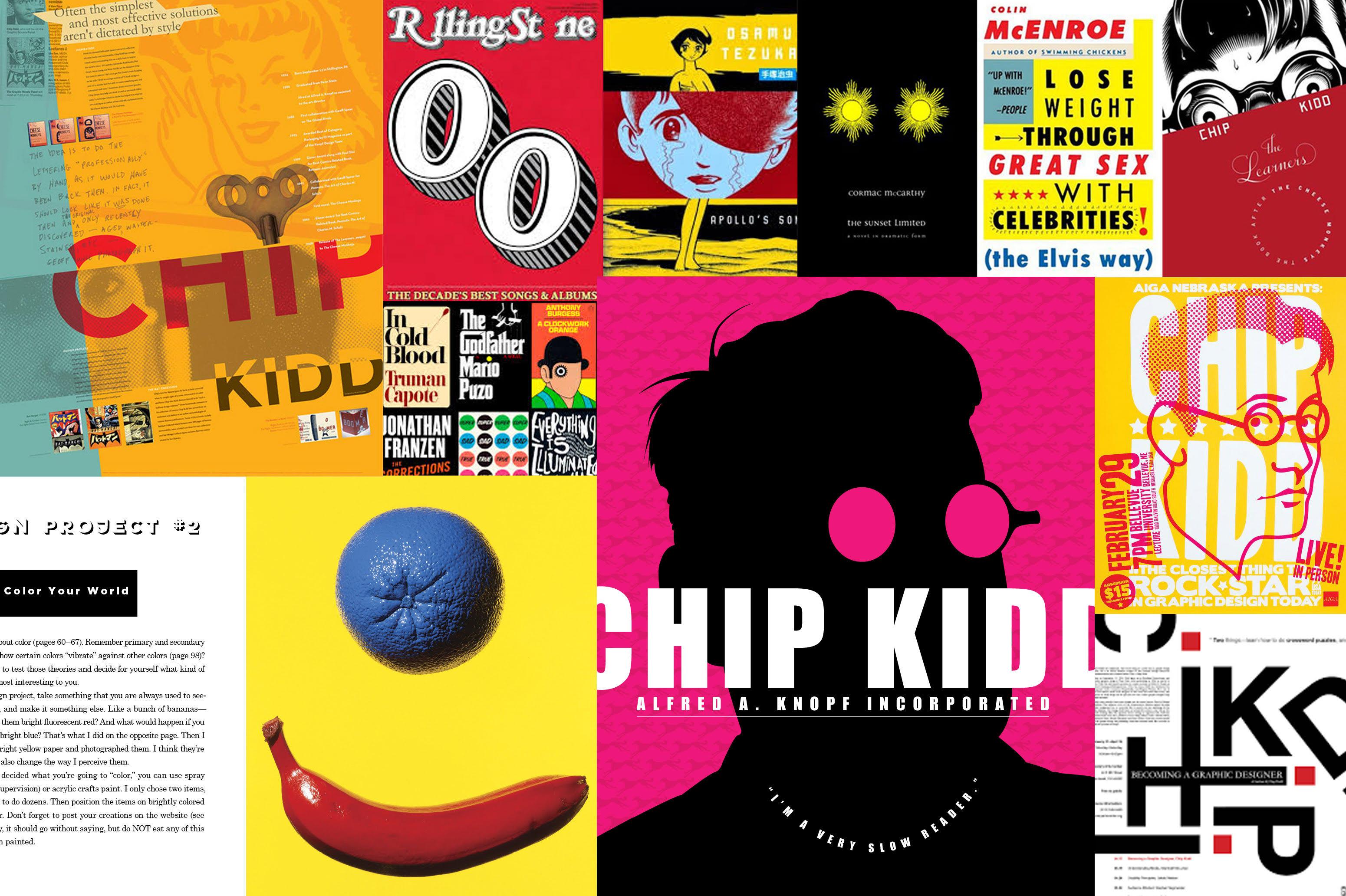 chip kidd design collage