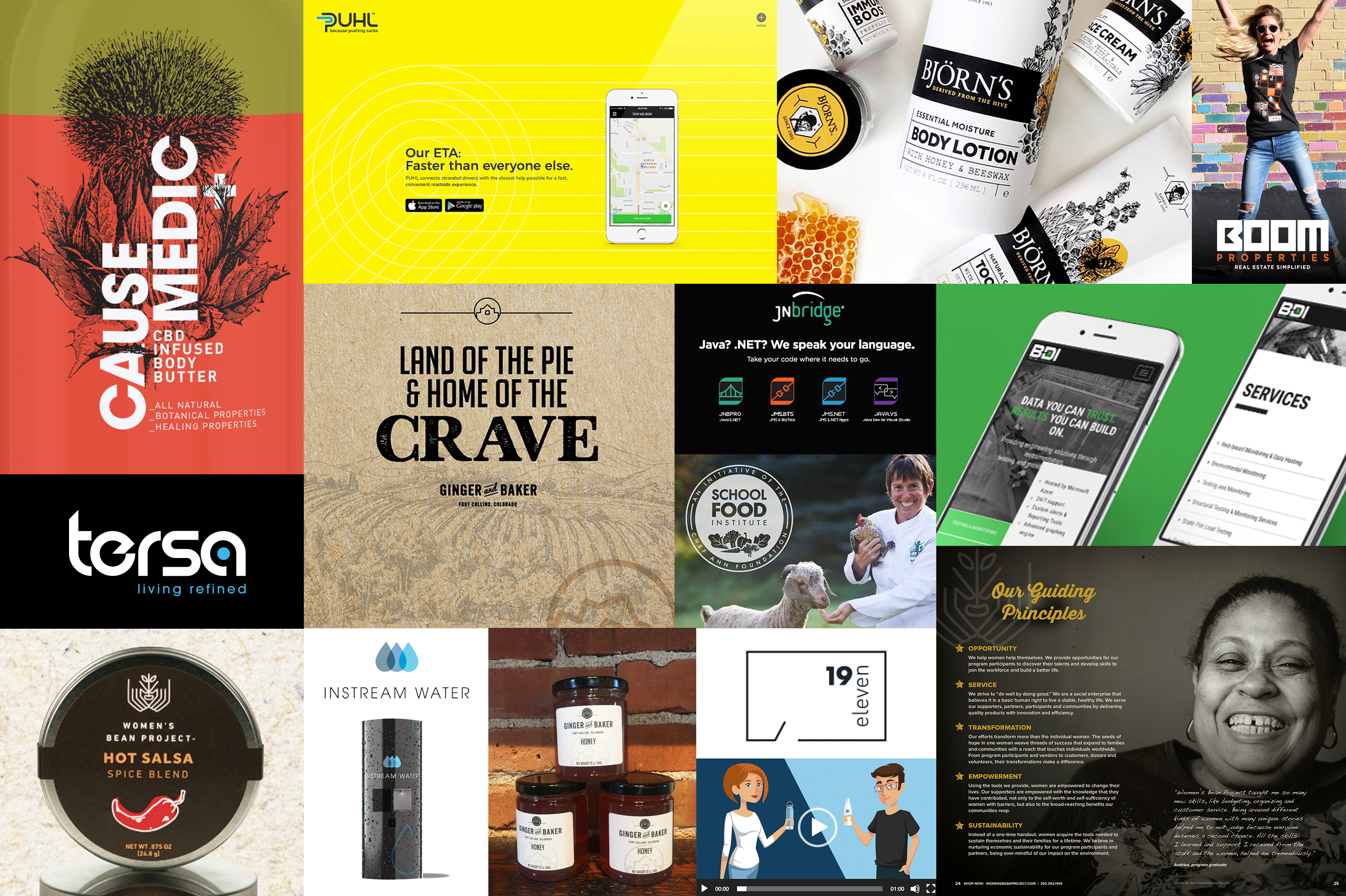 year in review from web design agency oblique design