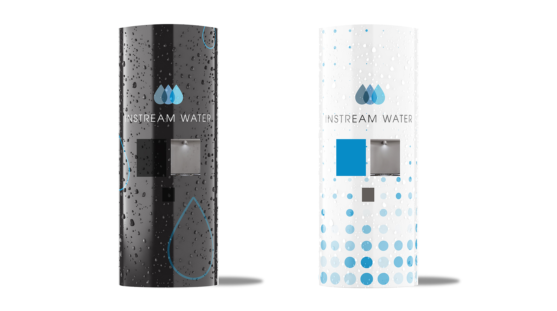 instream water dispensor design