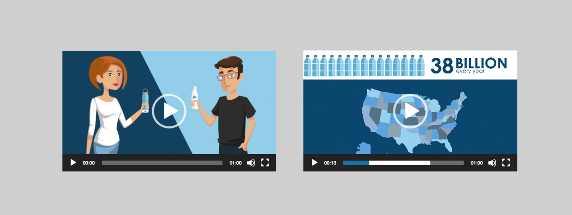 instream video demonstration stills