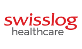 swisslog healthcare logo design
