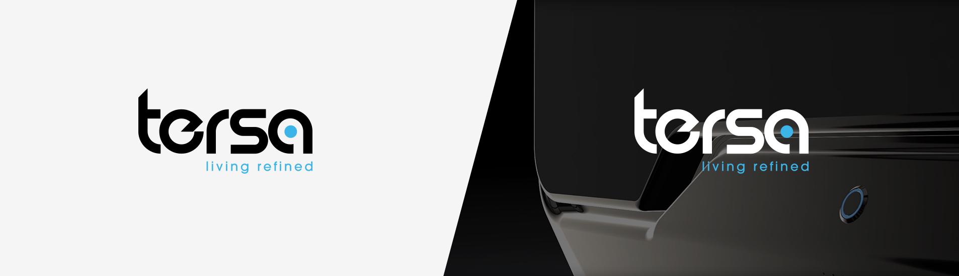 tersa website branding and design