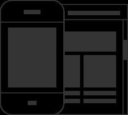interactive website design comps