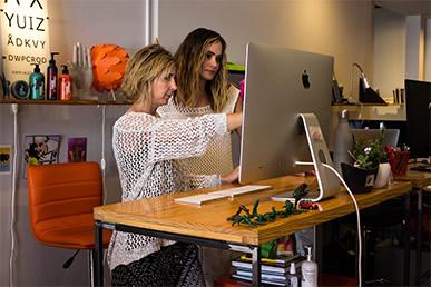oblique team performs creative audit