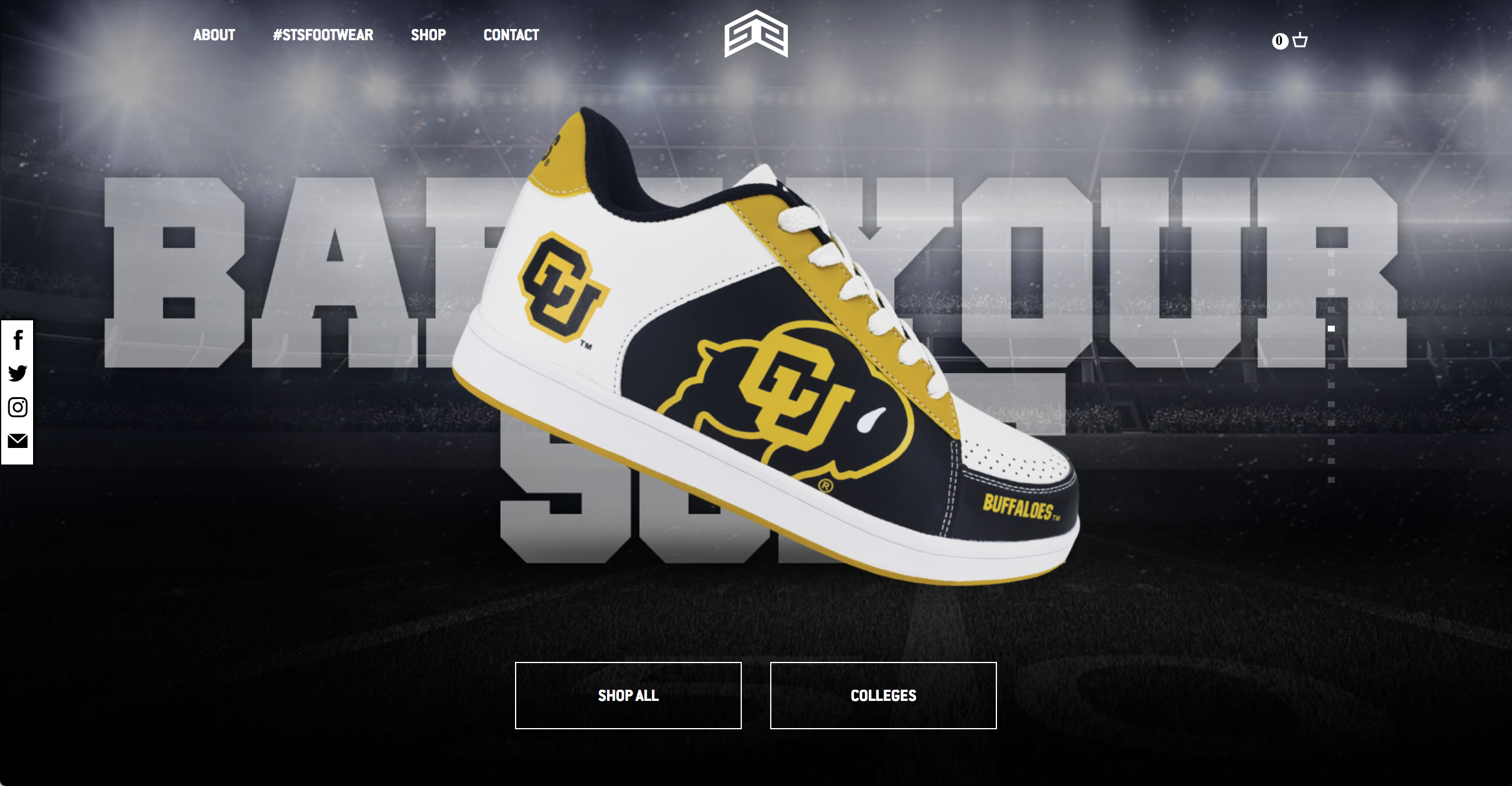 Now STS Footwear is delivering a line of sneakers that feature custom designs for dozens of college sports teams. Their company is quickly becoming a fan ...