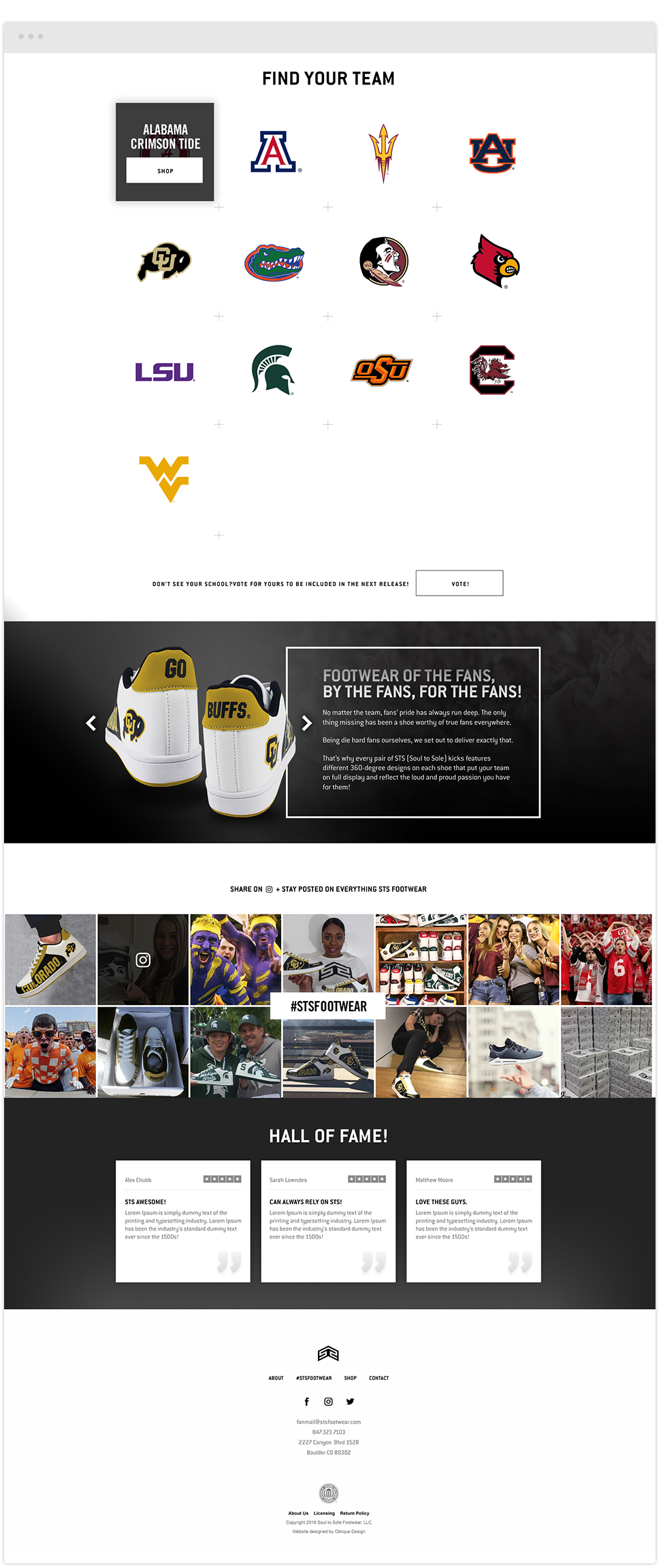 ncaa teams with branded shoes by sts footwear