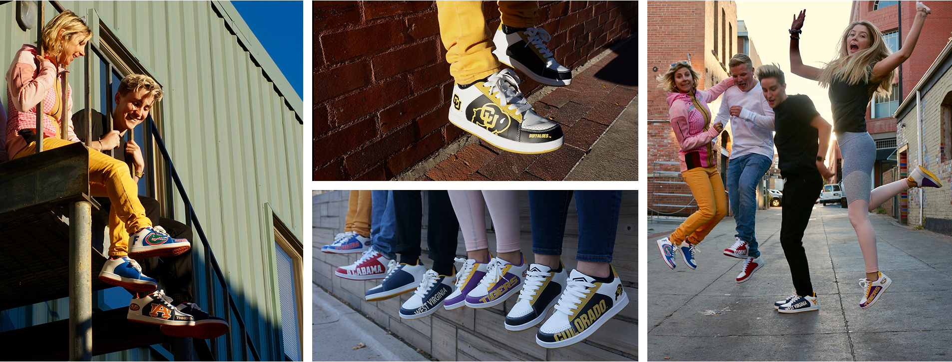 college branded shoes by sts footwear