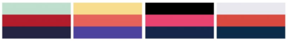 color palates for logo and branding projects