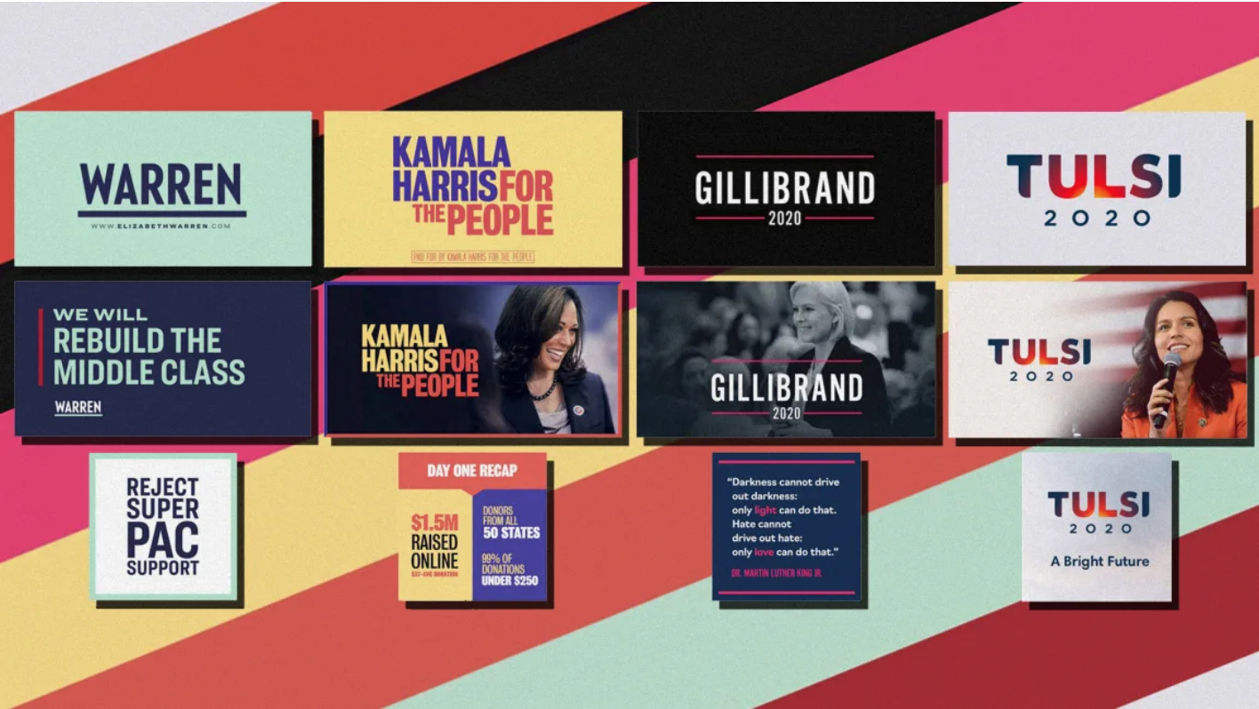 political campaign branding examples