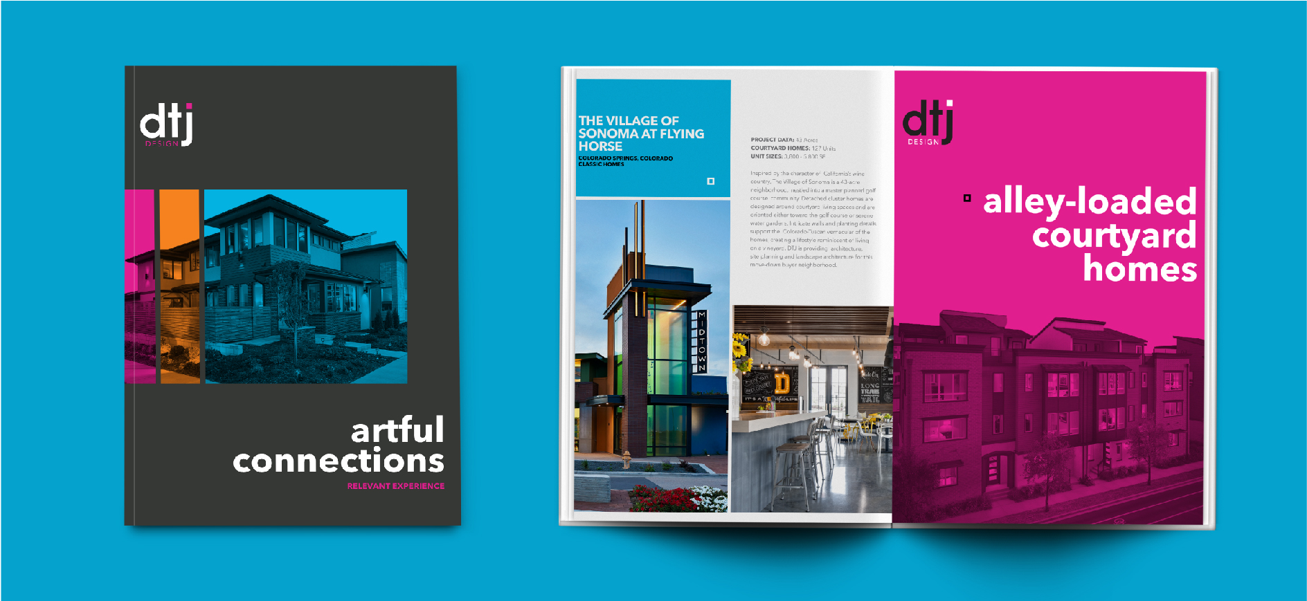 print design project for architecture firm